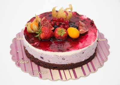 Tort cheesecake afine