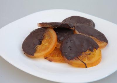 Portocala cu ciocolata