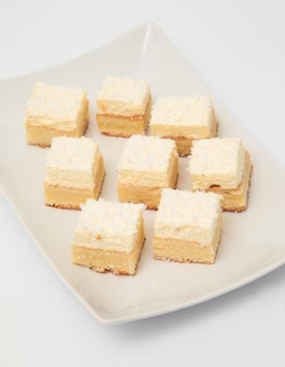 Prajitura cocos si vanilie
